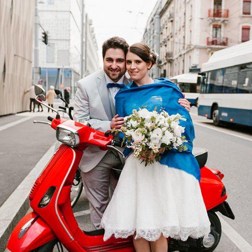 MARIAGE URBAIN À GENÈVE | MIKAILA + LIONEL | SUISSE