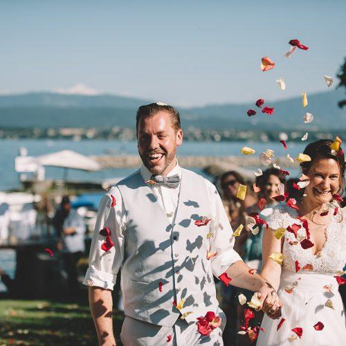 MARIAGE CHAMPÊTRE | HÔTEL LA BARCAROLLE | AURÉLIA + DAVID | PRANGINS