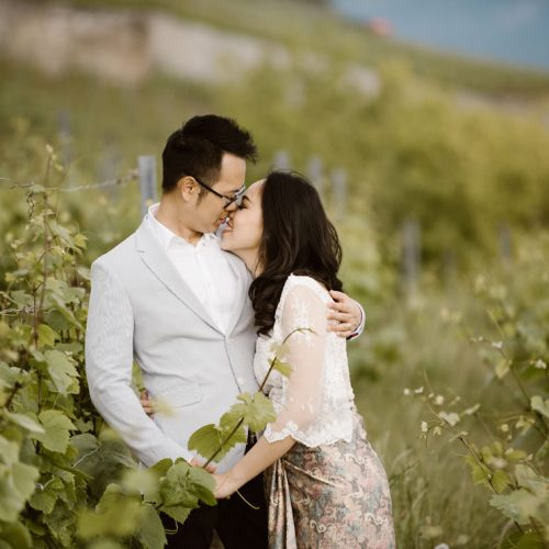 SÉANCE COUPLE À SAINT-SAPHORIN | LAVAUX | MAUREEN + BILLY