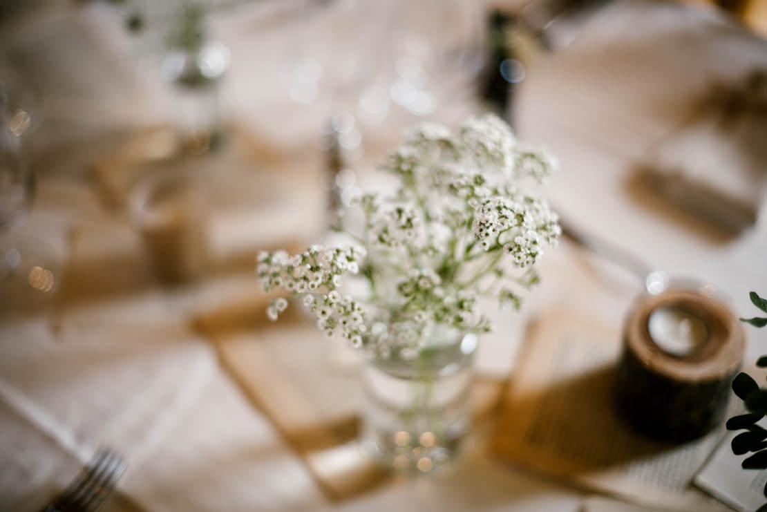 mariage champêtre château vuissens décoration la salle