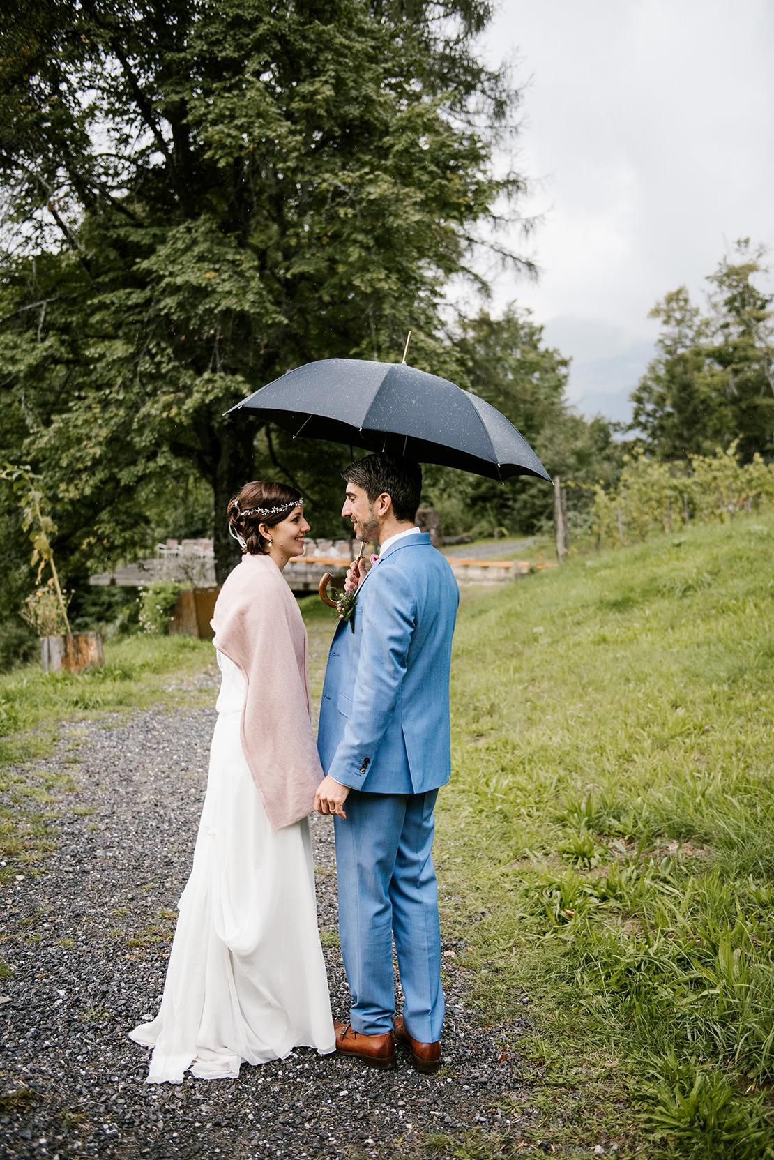 MARIAGE RUSTIQUE À L'HÔTEL WETTERHORN HASLIBERG