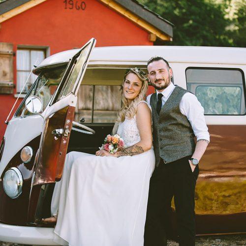 MARIAGE VINTAGE AU COEUR DES ALPES VALAISANNES À FULLY | LAETITIA + JOHANN
